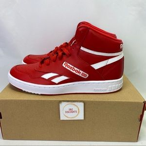 Reebok BB 4600 Men's Red Leather Basketball Shoes